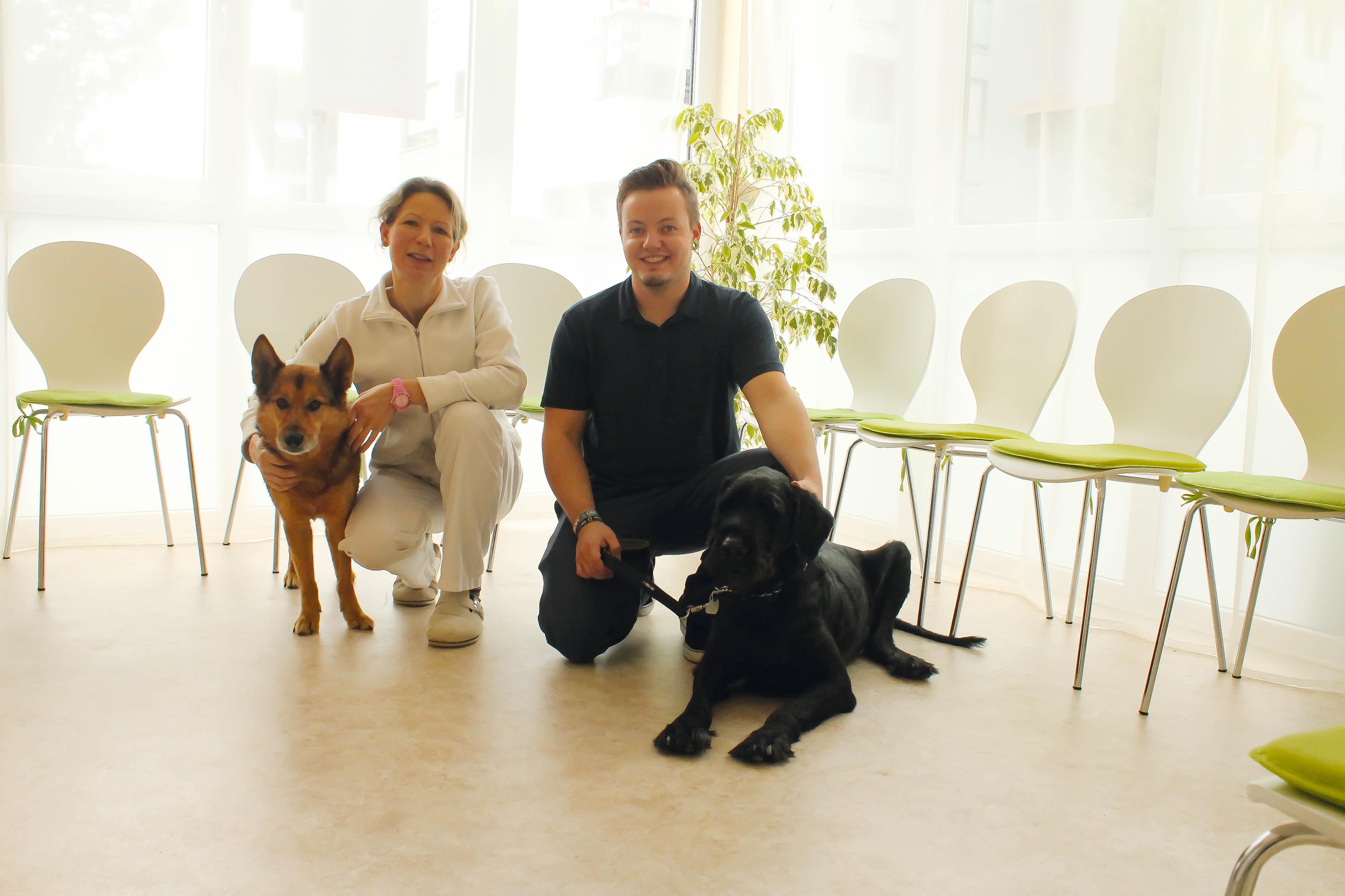 Das Team der Tierarztpraxis Poststrasse